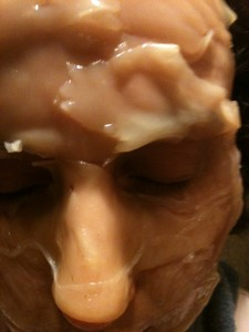 how to make a scoby face mask